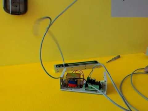 Wiring Maglock (Electromagic Door Lock), Push Button, Power Supply 12V  YouTube