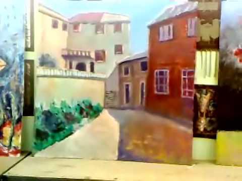 oil painting GHASLAN GALLERY 20.mp4