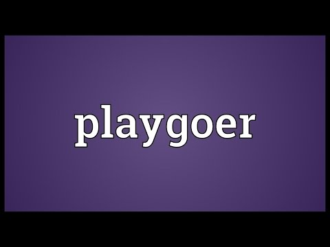 Header of playgoer