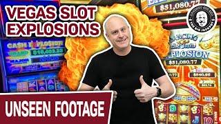 💥 Las Vegas SLOT EXPLOSIONS! 💥 Cash Explosion & Dancing Drums Explosion