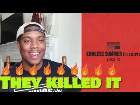 G-Eazy - Endless Summer Freestyle (Audio) Ft YG   Reaction