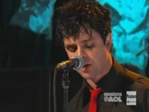 Green day  jesus of suburbia  on aol sessions