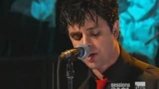 Green Day Jesus Of Suburbia Live On Aol Sessions