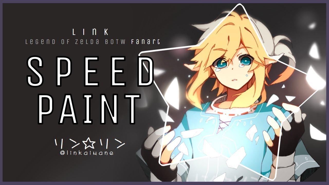 Link Botw Fanart Speedpaint