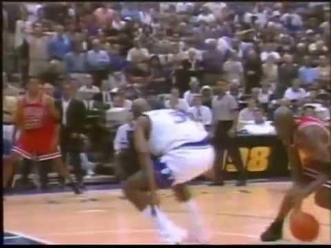 Michael Jordan, Finals 1998, Gara 6: ultimo minuto (Buffa & Tranquillo)