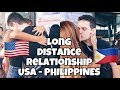 LONG DISTANCE RELATIONSHIP STORY 2017  USA & PHILIPPINES ...