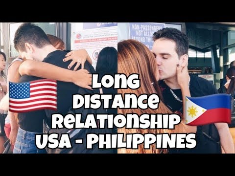 long distance relationship story filipino and american descent