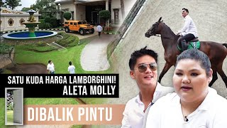 LAPANGAN GOLF & KUBURAN PRIBADI DIRUMAH ALETA MOLLY! BOY KAGET! #DibalikPintu
