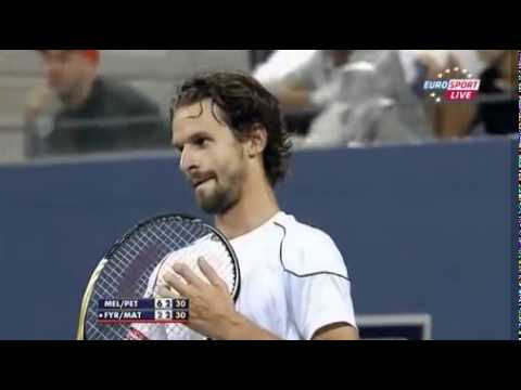 US Open 2011 Doubles final. We do not want cheaters in tennis!