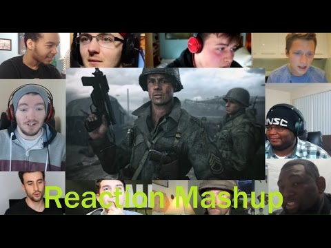 Thumbnail: Call of Duty WWII Official Reveal Trailer REACTION MASHUP