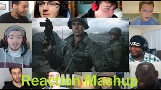 Call of Duty  WWII Official Reveal Trailer REACTION MASHUP