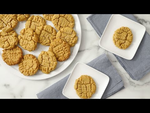 Easy Peanut Butter Cookies- Martha Stewart