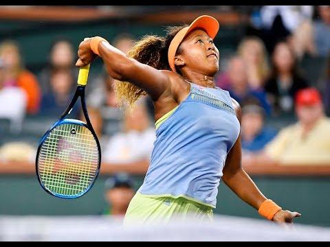 BNP Paribas Open 2018: Naomi Osaka vs. Sachia Vickery | Highlights