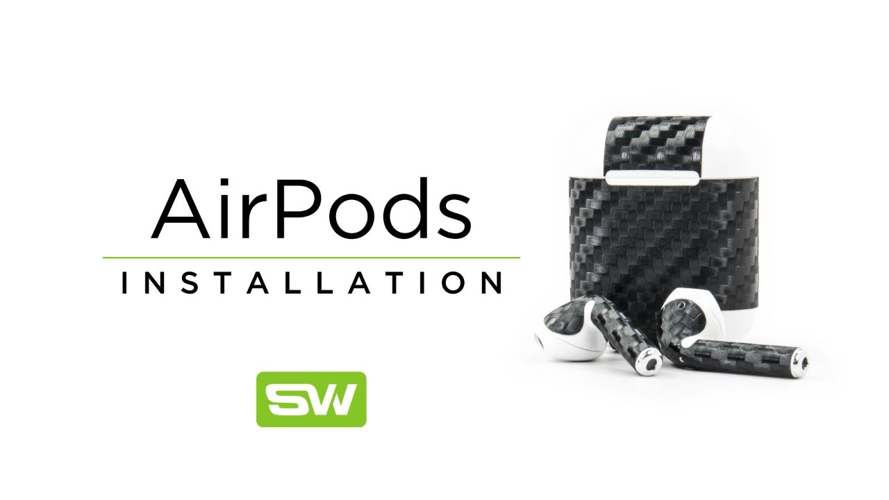 Slickwraps Apple AirPod Installation Video
