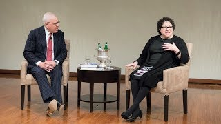 A Conversation with Justice Sonia Sotomayor - Annual David M. Rubenstein Lecture