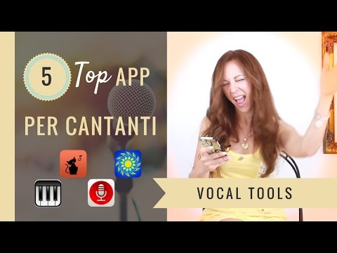 App per Cantare - Apps for Singers