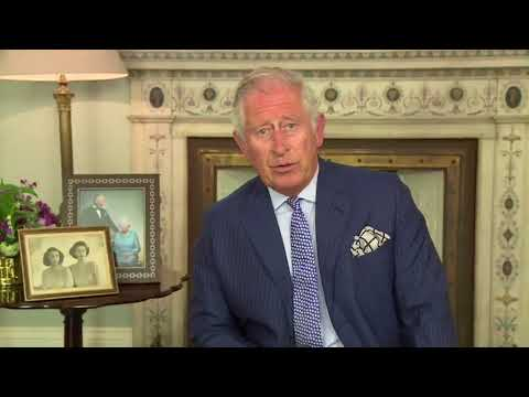 A Message From HRH Prince Charles The Prince Of Wales...