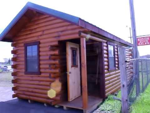 10x20 Cottage Log Cabin