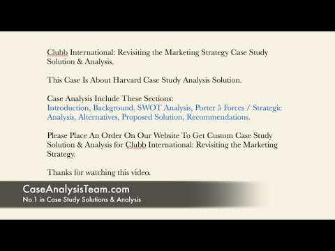 international marketing case studies free download