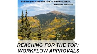 E-Procurement Workflow and Approver Training