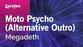 Karaoke Moto Psycho (Alternative Outro) - Megadeth *