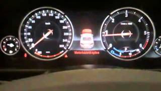 BMW  M 550d műszerfal