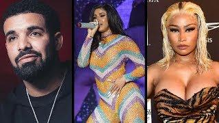 Drake Brings Cardi B to OVO FEST to Shade Nicki Minaj... PETTY