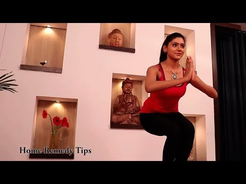 How To Do Utkatasana (Twisting Chair Pose)| Yoga for Lower Back Pain