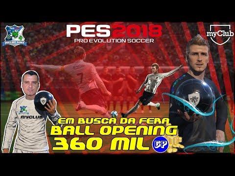 PES2018 BALL OPENING DE 360 MIL GP LEGENDS BECKHAM - EM BUSCA DA FERA / A SORTE ACABOU?