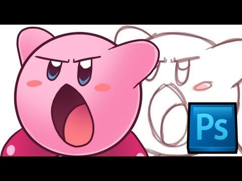 Tutorial: Basic Photoshop/Drawing + Kirby Tutorial [PS CS6]