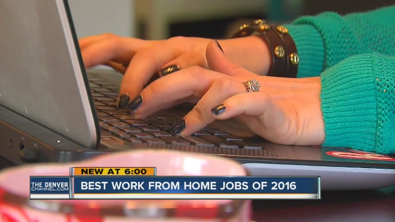 Best Work From Home Jobs In 2016 You
