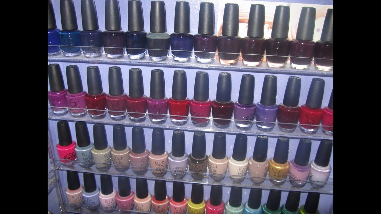 My Nail Polish Collection And Storage Part 2 Opi