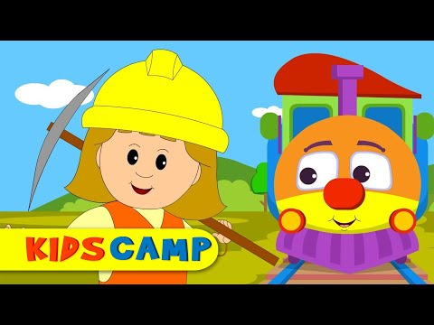 I've Been Working On The Railroad Nursery Rhymes Collection for Children by KidsCamp