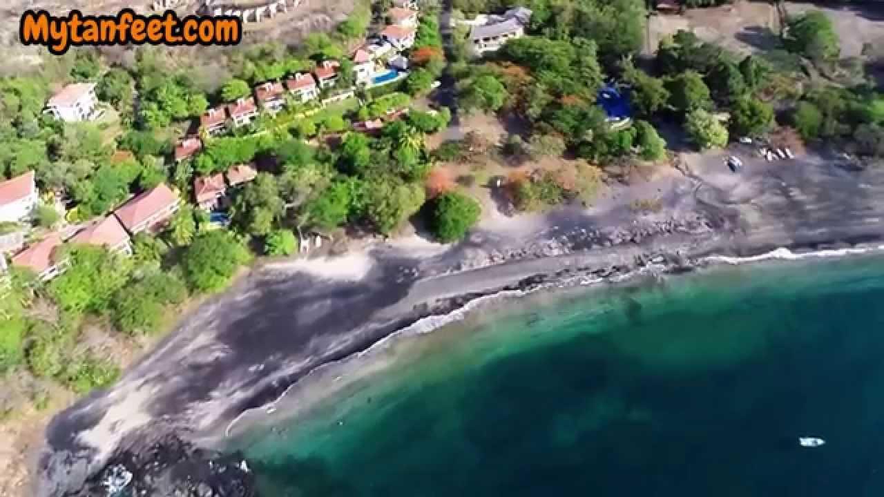 Playa Ocotal A Quiet Beach Town In Gulf Of Papagayo Guanacaste
