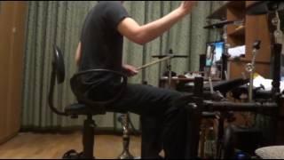 Будни начинающего барабанщика 07 04 2017