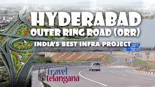 Hyderabad Nehru outer ring road 158 kms long 8 lanes