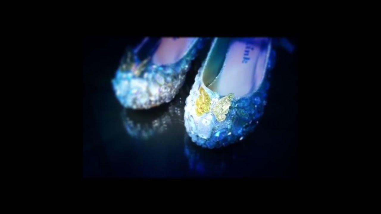 Cinderella Glass Slipper Shoes Kids
