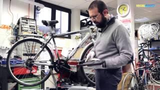 Installazione kit elettrico di GreenGo Bike