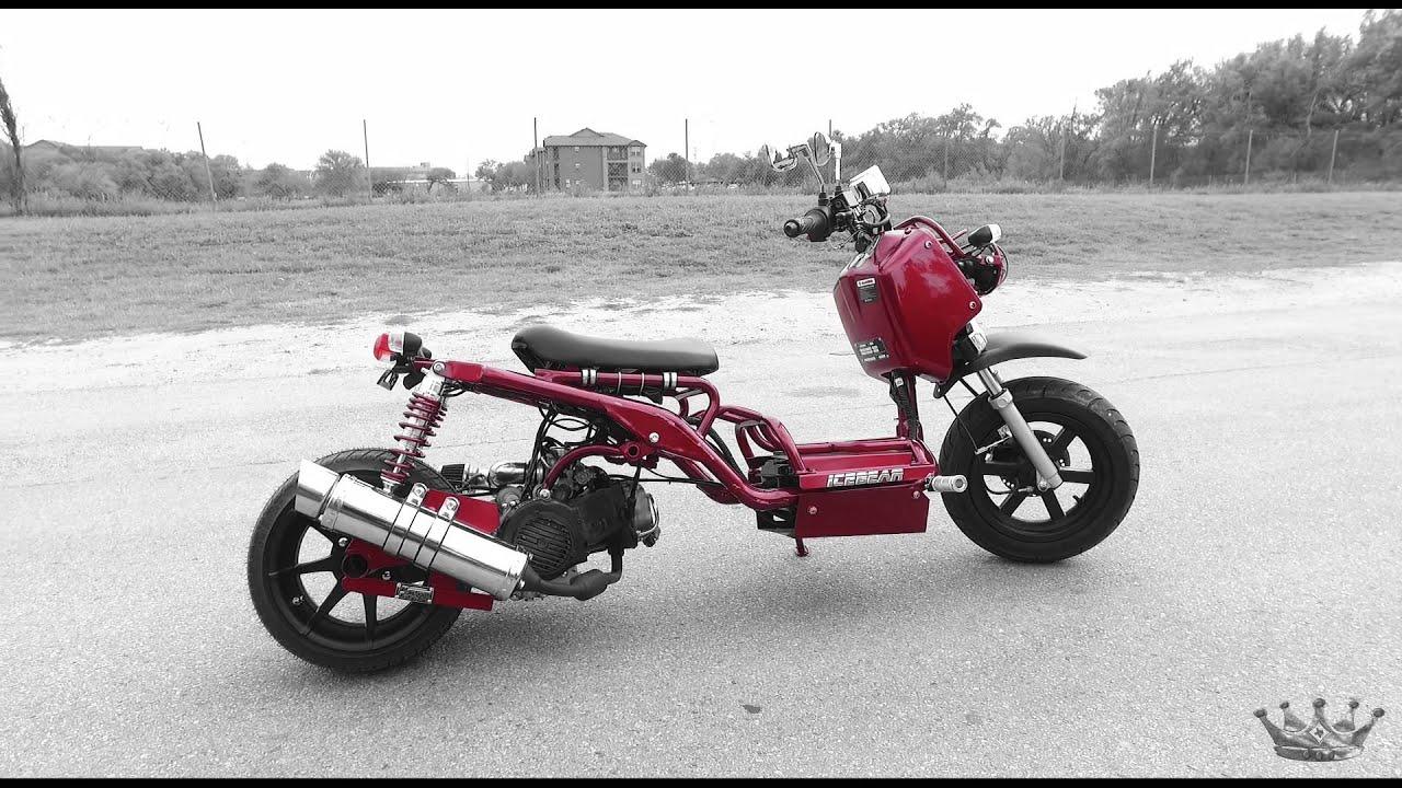 Honda Ruckas scooter For Sale MADDOG Scooter Honda Clone