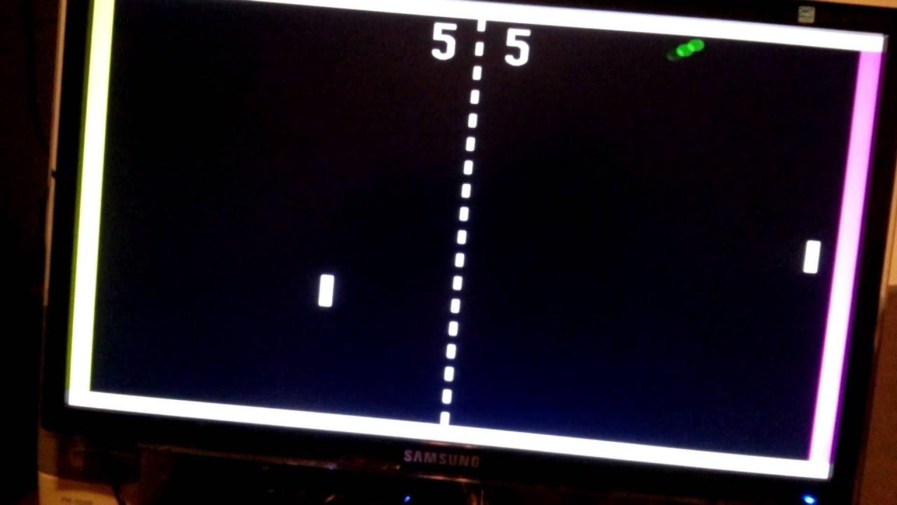DE0-nano VGA Pong Game