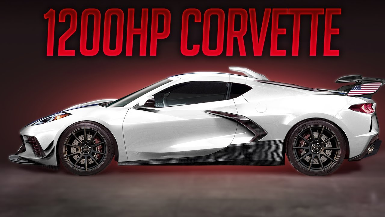 CRAZY 1200HP Hennessey 2020 Corvette C8! - YouTube