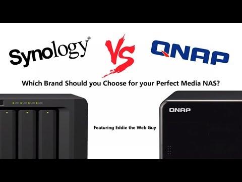 Synology Vs QNAP - Home Media - YouTube