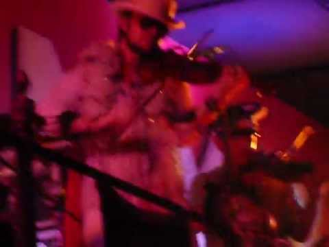 """Scythian at Stout in NYC for Halloween - end of """"Kesh Jigs"""" into """"The Shouting Song"""""""