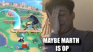 Reacting to Your Janky Marth Tipper Hit boxes [ Super Smash Bros Ultimate ]