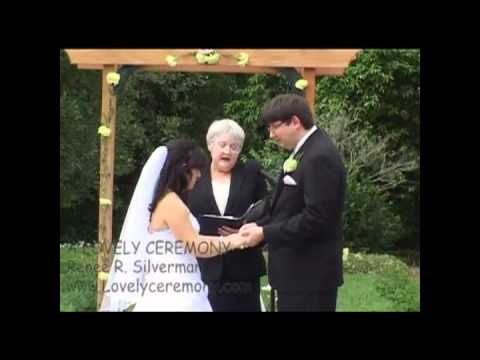 A Lovely Ceremony Sample Wedding Ceremony YouTube