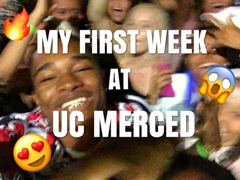 MY FIRST WEEK AT THE UNIVERSITY OF CALIFORNIA, MERCED!!! (PART 1)