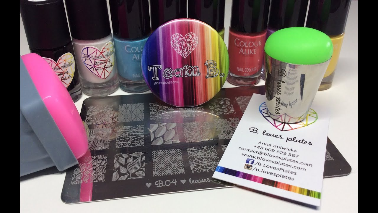 NEW PRODUCTS* B. Loves Plates | Stamping Polish, Stampers & Plate ...