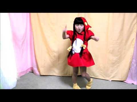 【華月8歳】逃げ恥☆恋ダンス にゃんごすたー風衣装で歌って踊ってみた