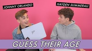 Baixar Johnny Orlando vs. Hayden Summerall - Guess Their Age