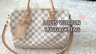 LOUIS VUITTON Luggage Tag, How to use it better?